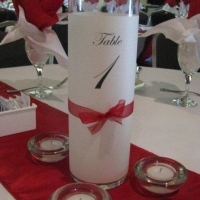 red-white-table-number