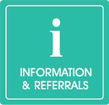 information and referrals