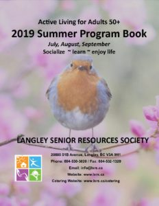 2019 Summer Program Book